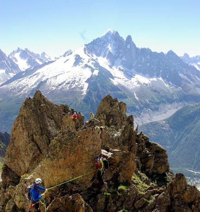 Vidéo du Grand parcours alpinisme Chamonix 2014