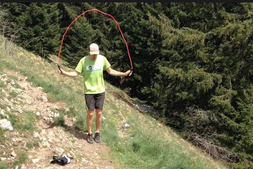 Séance de corde à sauter