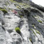 photo d'escalade extérieure