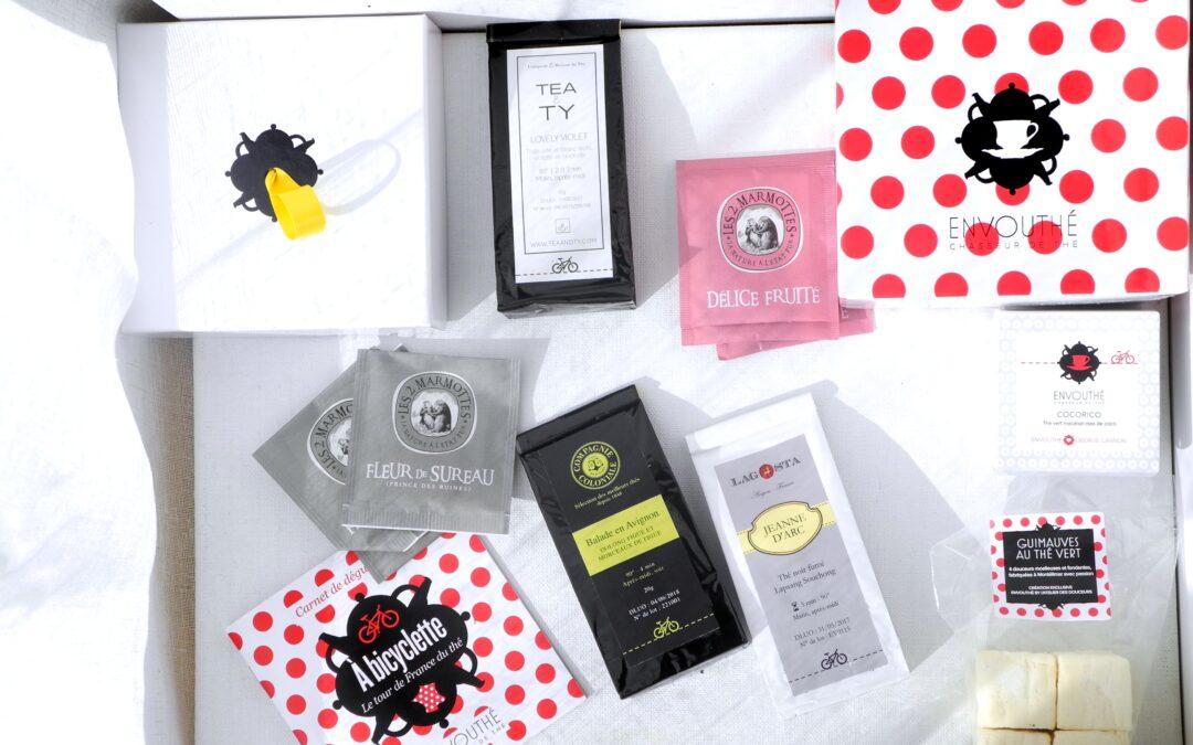 Box Envouthé – A bicyclette: Tour de France des thés