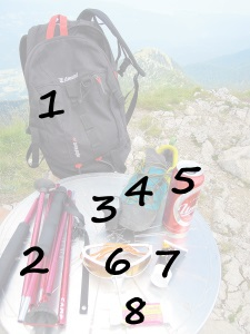 sac pour randonner randonnée quaechua chaussure forclaz baton xenon camp lunette julbo ride altimetre geonaute union biere creme baume neige sac simond