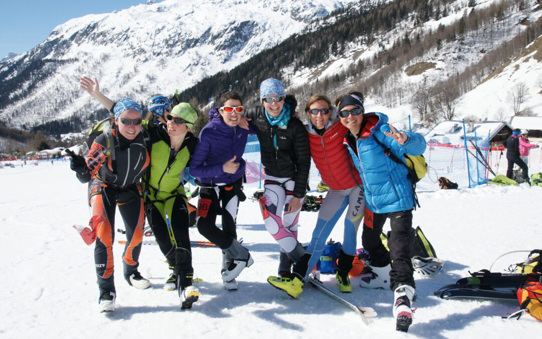 Sélection de l'équipe régionale féminine de ski-alpinisme FFME