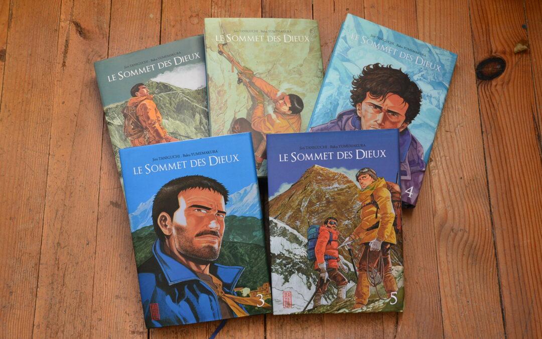 Livre de Montagne- Le Sommet des dieux