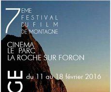 Festival du film de montagne – Vertical Vertige – La Roche sur Foron