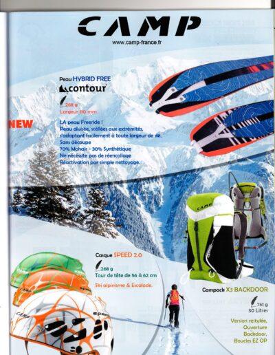 CAMP ski de rando - Publicité Freerando Magazine