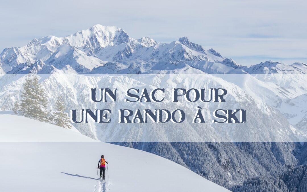 Un sac pour… Une sortie ski de rando tranquille à la journée