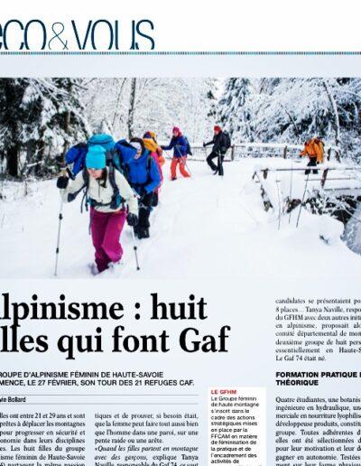 Article Eco des pays de savoie - GAF74