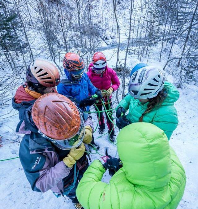 Sélections du Groupe Féminin de Haute Montagne en Rhônes-Alpes (GFHM)