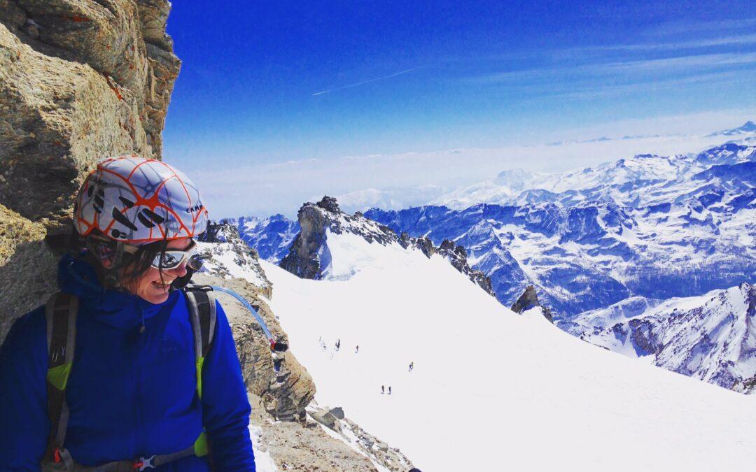 Le Grand Paradis en ski de randonnée à la journée
