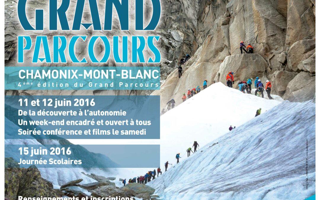 Le Grand Parcours Alpinisme Chamonix 2016