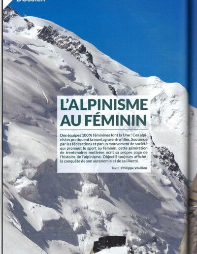 Dossier La Montagne et Alpinisme - L'alpinisme au féminin