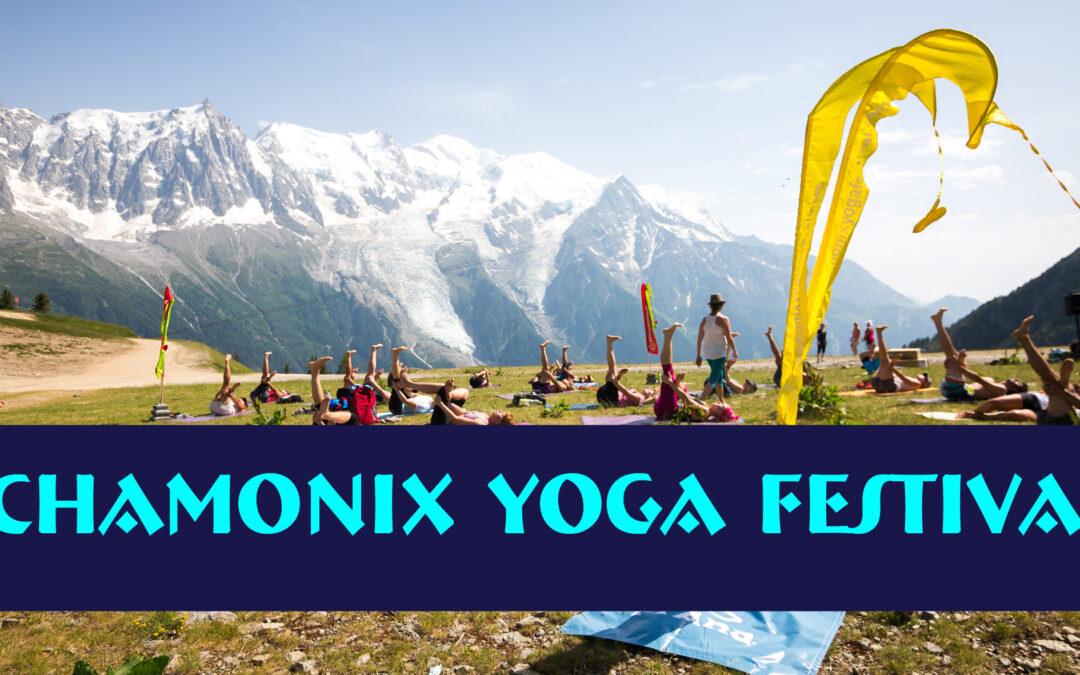 Chamonix yoga festival – du 8 au 10 juillet