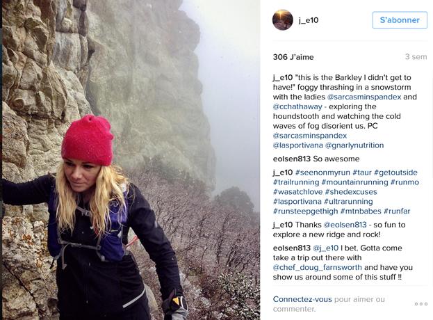 Jennilyn Eaton - top10 des comptes instagram de traileuses /http://pasquedescollant.com trail run running sportives trail au féminin