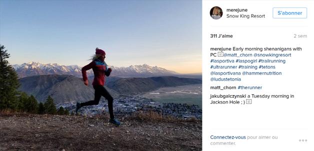 Meredith June Edwards - top10 des comptes instagram de traileuses / http://pasquedescollant.com trail run running sportives trail au féminin