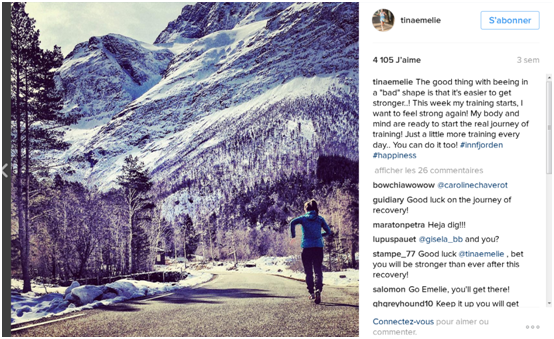 top10 des comptes instagram de traileuses /http://pasquedescollant.com trail run running sportives trail au féminin