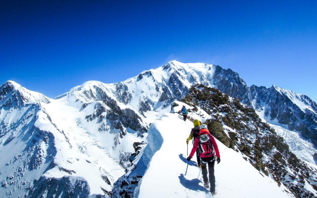 Sélections du Groupe d'alpinisme au féminin de Haute-Savoie (GAF74)