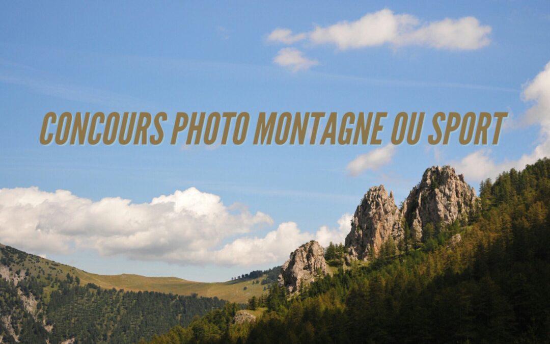 Concours photo sport outdoor et montagne – Facebook/Instagram