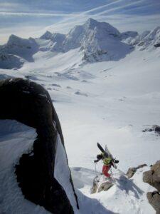 Splitboard, Plum, ski, snowboard, Val-Thorens, neige, randonnée, ski de randonnée, Péclet, drone