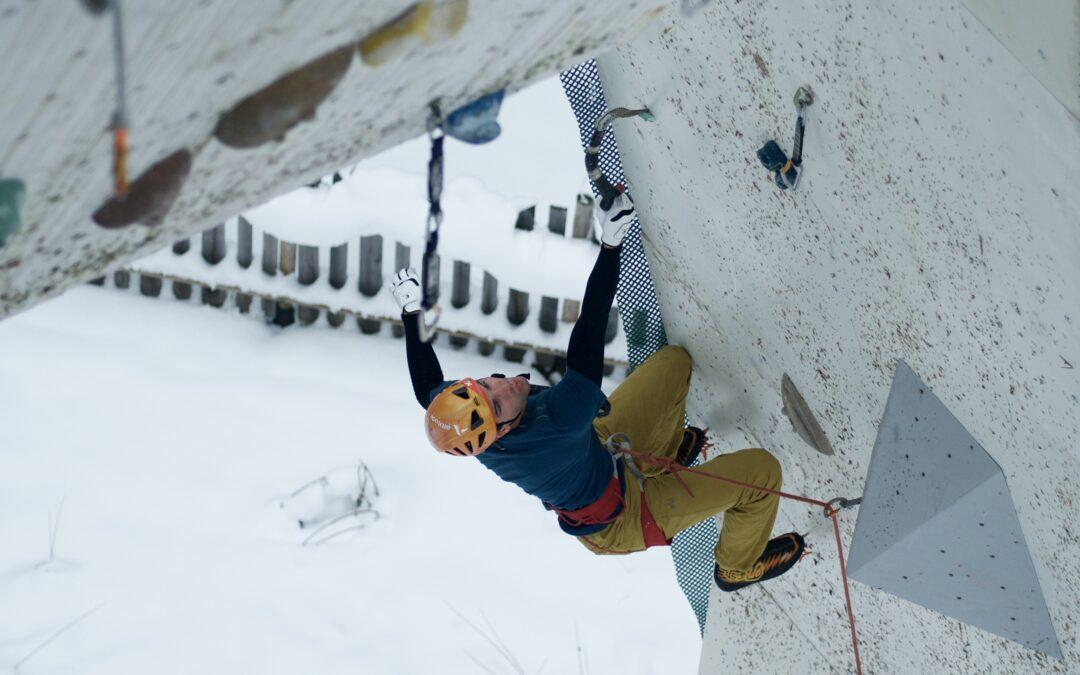 Entrainement en Escalade sur glace