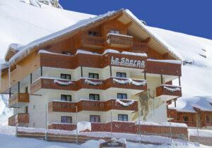 hôtel le sherpa val thorens