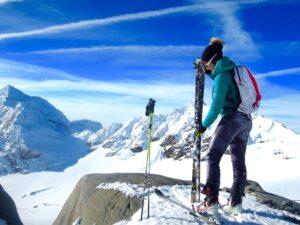 Ski de randonnée à Val Thorens