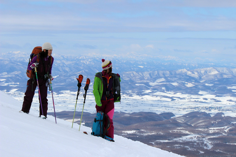 voyage ski de rando féminin japon