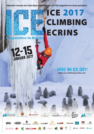 affinche ice climbing ecrins 2017