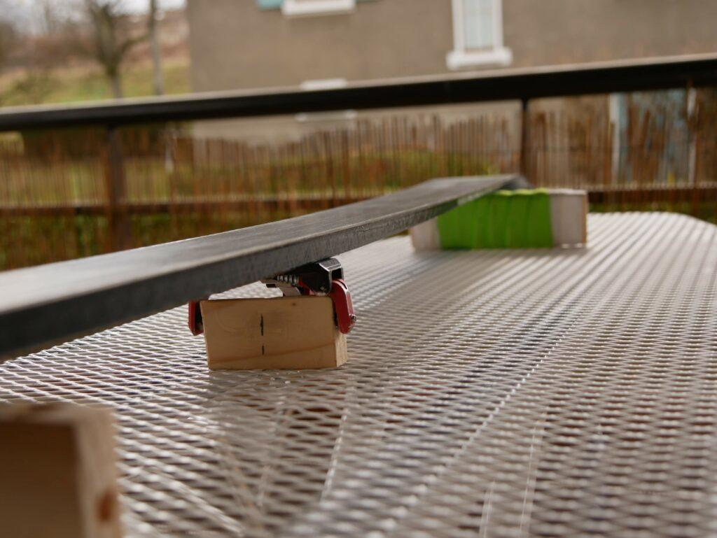 table de fartage pour ski do it your self DIY