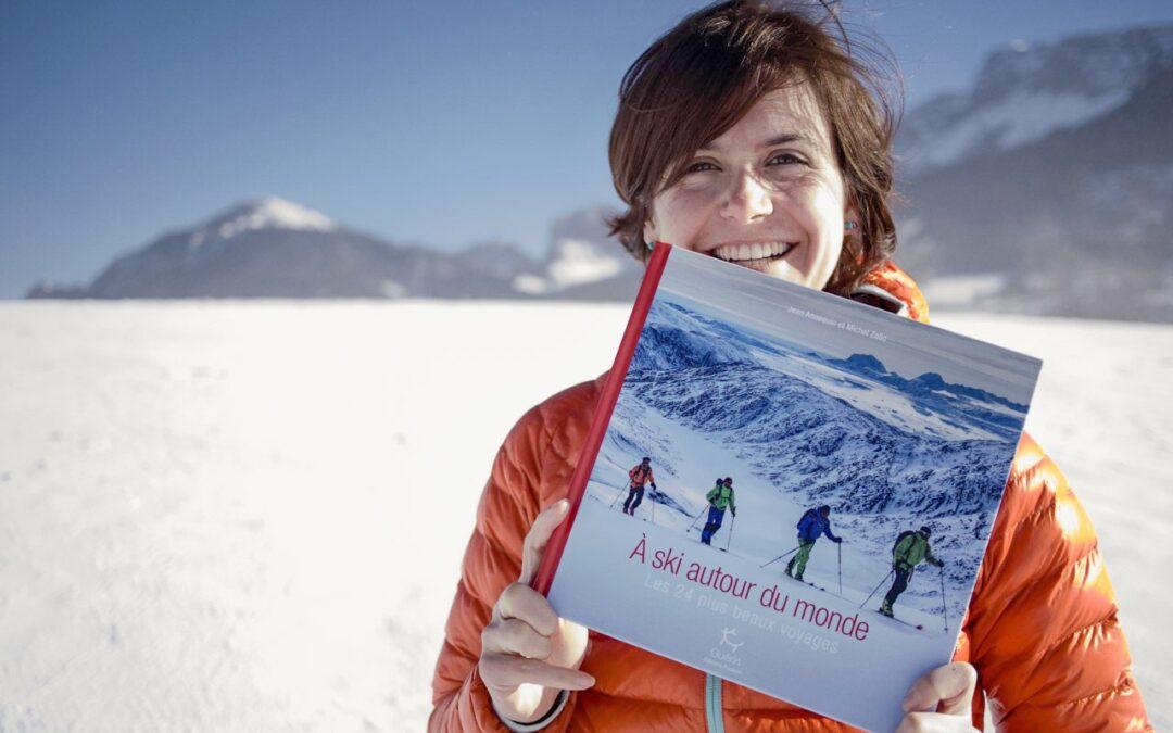 Livre- A ski autour du monde- les 24 plus beaux voyages