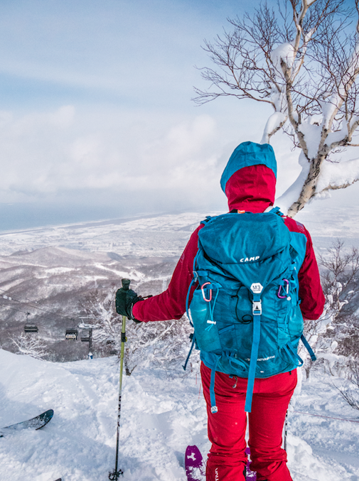 ou skier à sapporo Japon Hokkaido / https://pasquedescollants.com