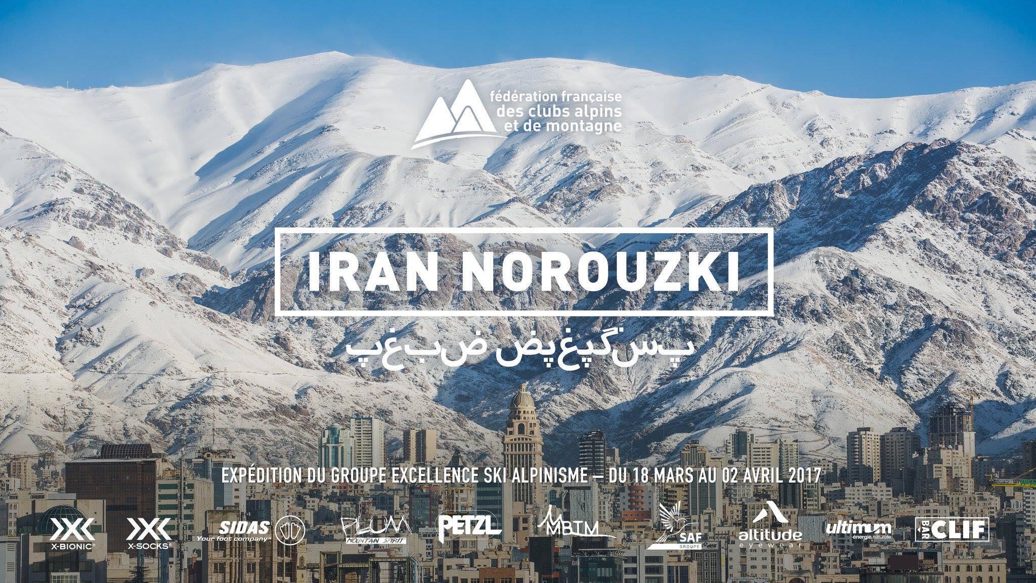 SKI en IRAN Expedition en ski de randonnee Iran nourouski https://pasquedescollants.com blog montagne et sport outdoor