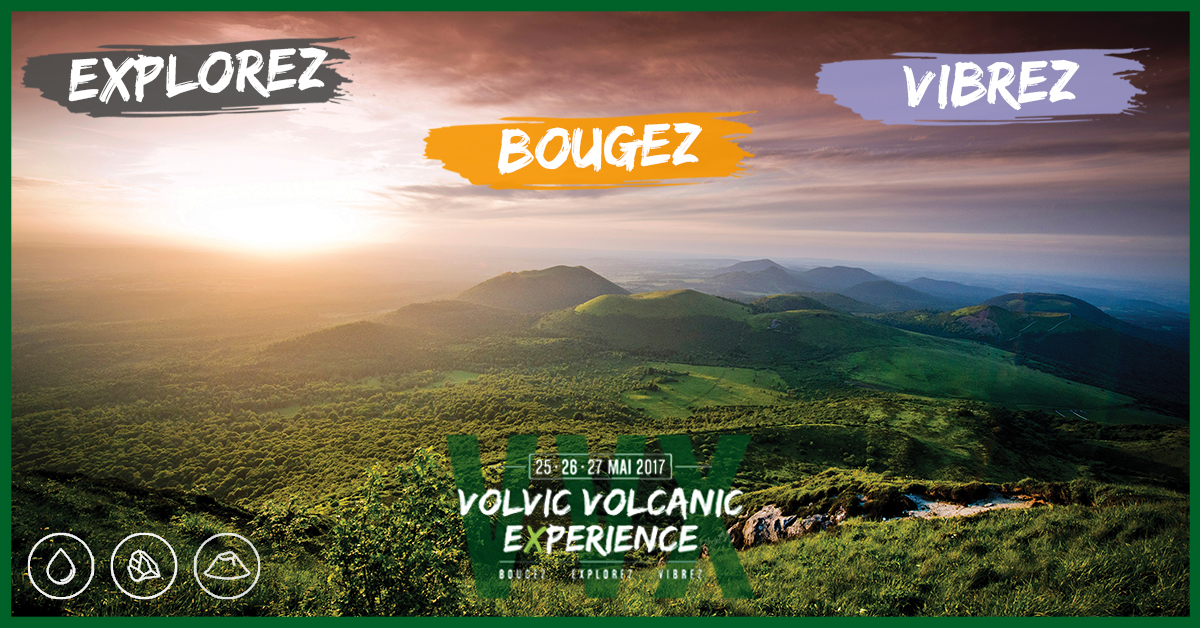 Volvic volcanic experience -Affiche