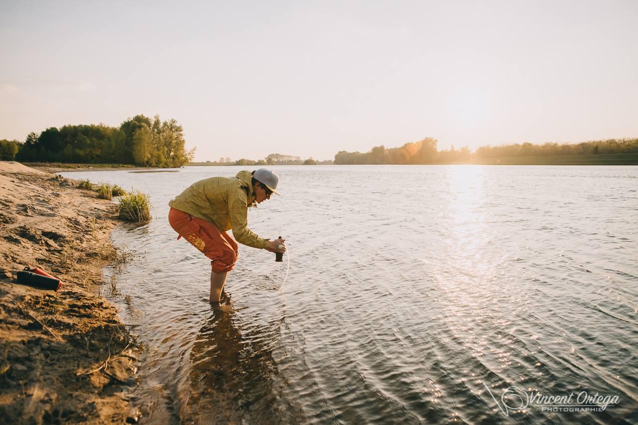 Photo microaventure canoe bivouac sur la Loire On n'est pas que des collants blog outdoor
