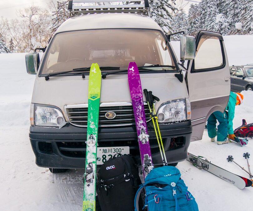 Un sac pour … partir en voyage au Japon en ski de randonnée