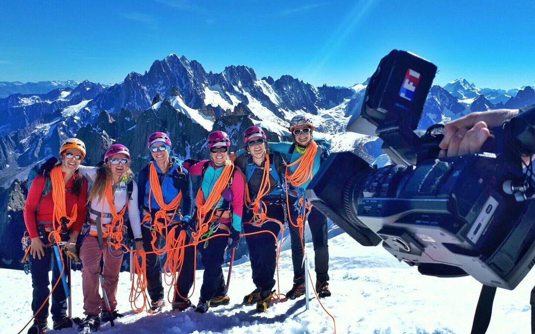 Reportage du JT de TF1 sur le GFHM ( Groupe féminin de Haute-Montagne)