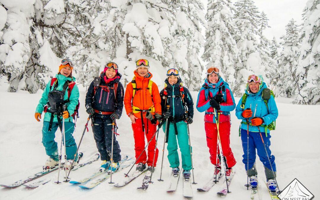 Teaser du Women's skimo project – opus Japon