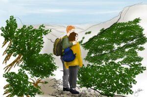 logo carnets de rnadonnée tour de l'aubrac Nos meilleures randonnées en France les blogueurs racontents https://pasquedescollants.com