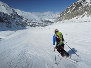 Brèche Puiseux en ski de rando – Idée de course