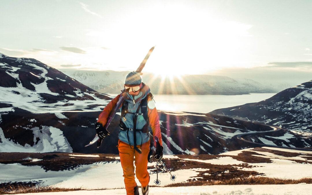Women's skimo project opus Islande