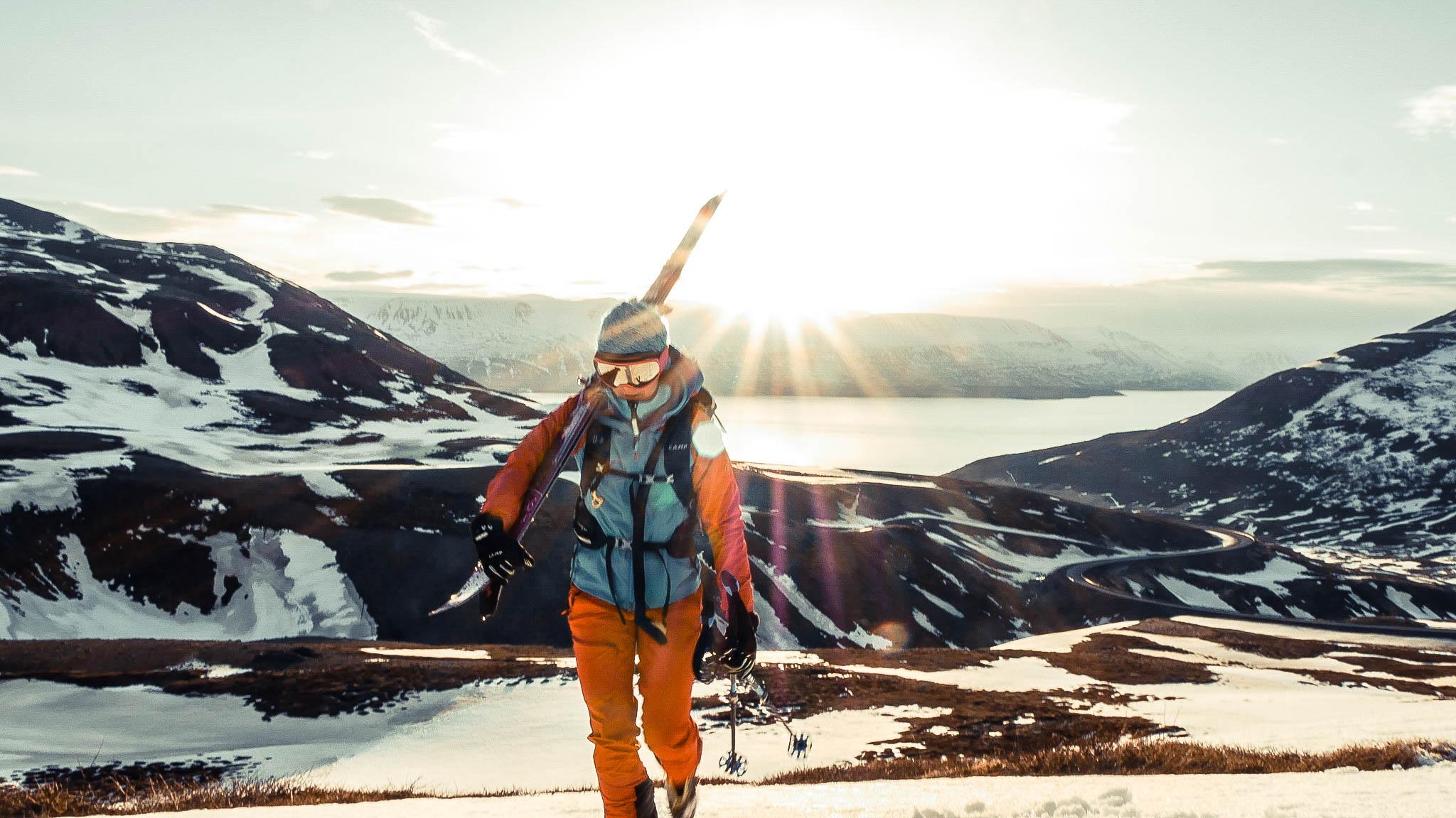 ski de randonnée en Islande