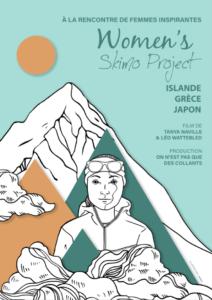 affiche women s skimo project WSP - 1