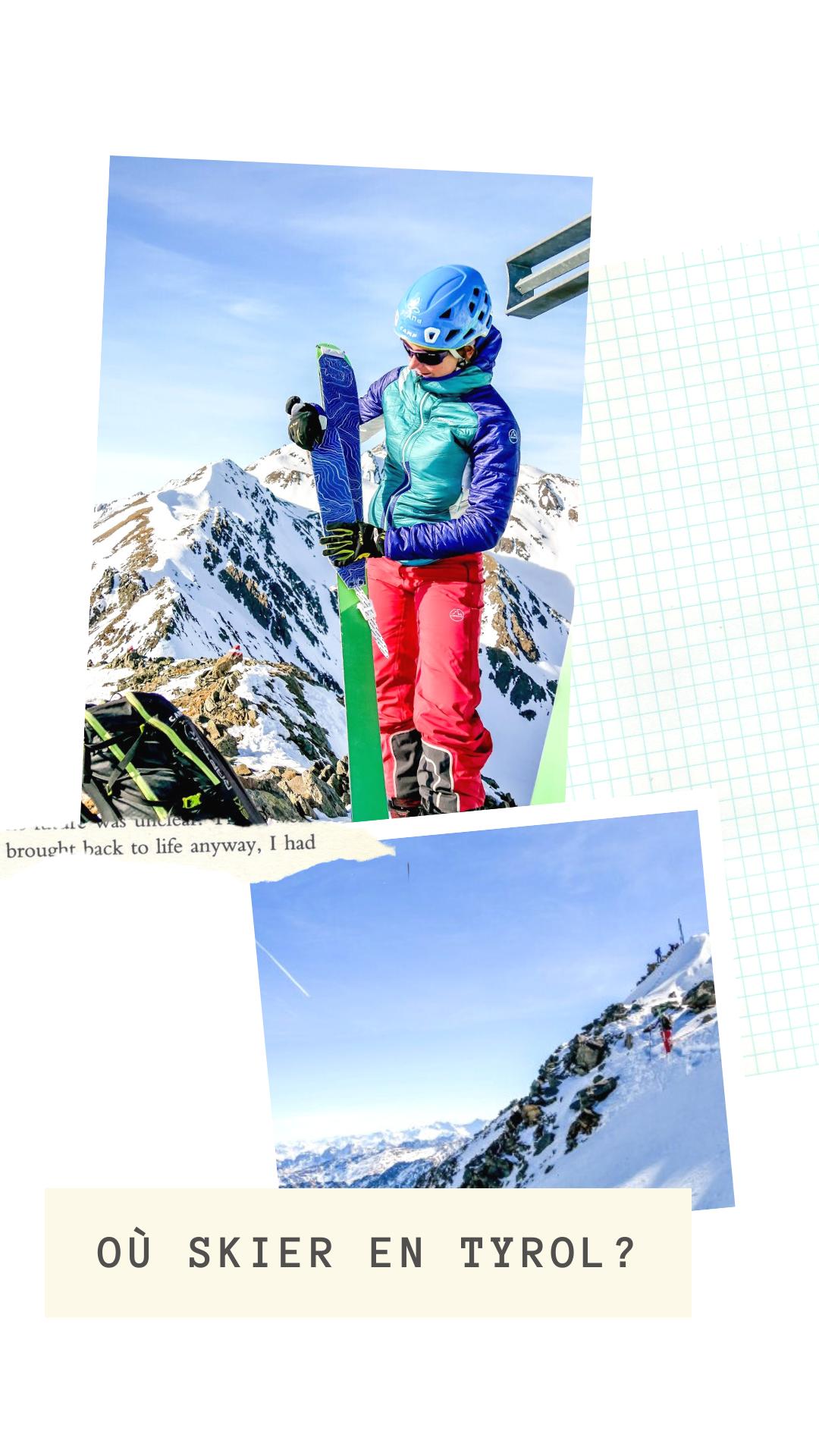 Ou skier en Tyrol ski de randon Autriche stubai raid a ski