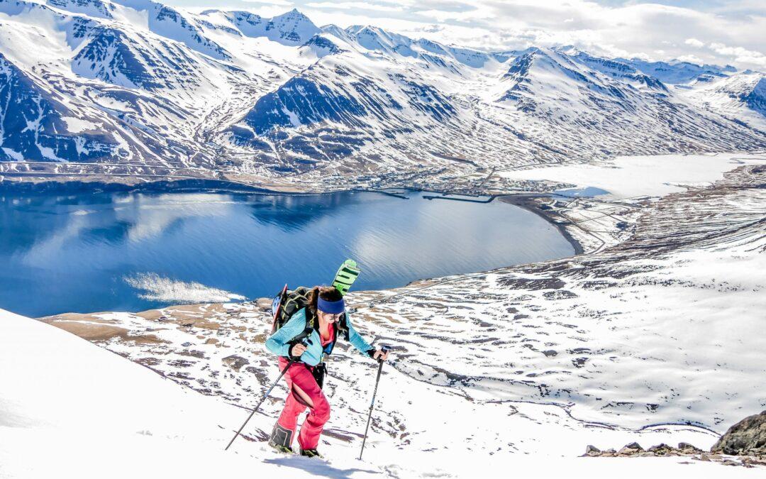 Retour à ski en Islande