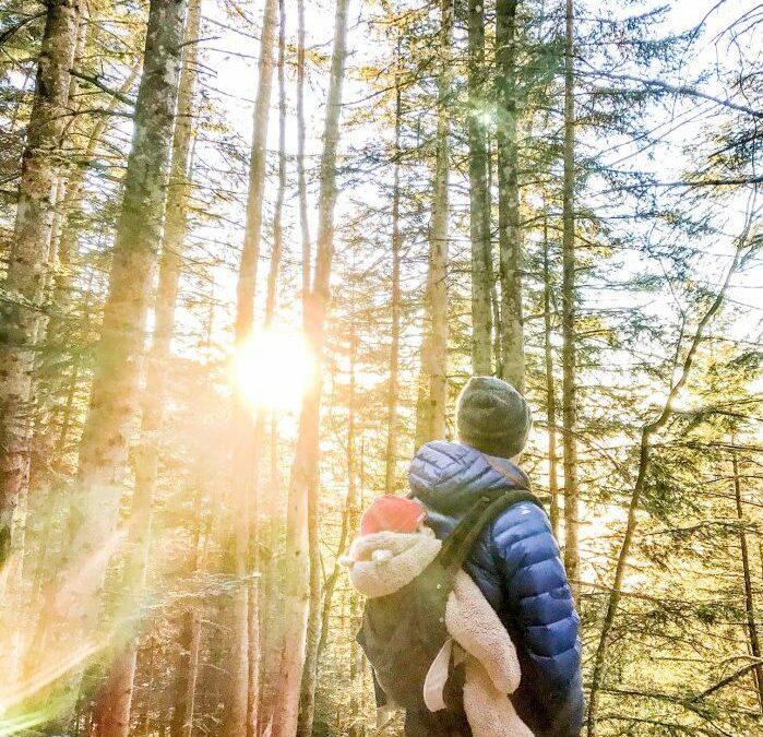 Comment partir à l'aventure avec un bébé en montagne?