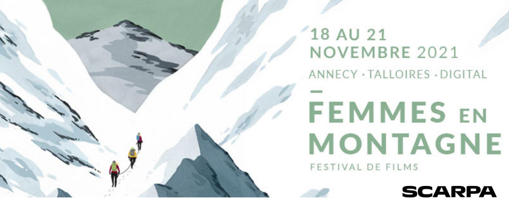 festival femmes en montagne banniere FEM 2021