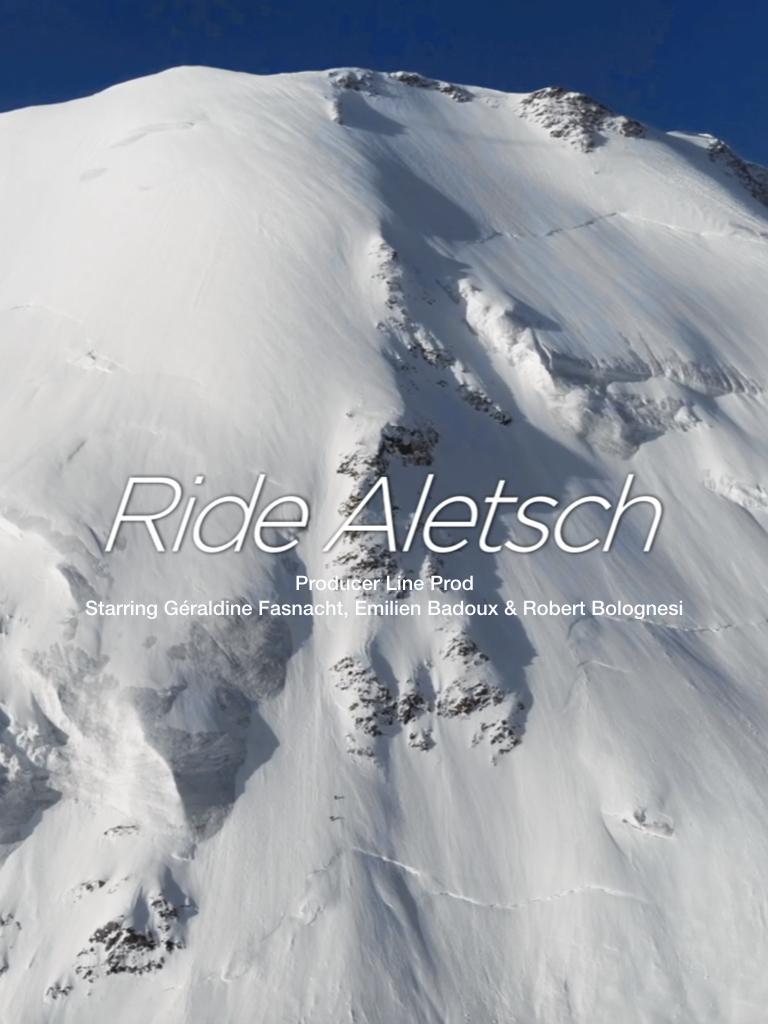 Ride alescht film geraldine Fasnacht snowboard femmes en montagne