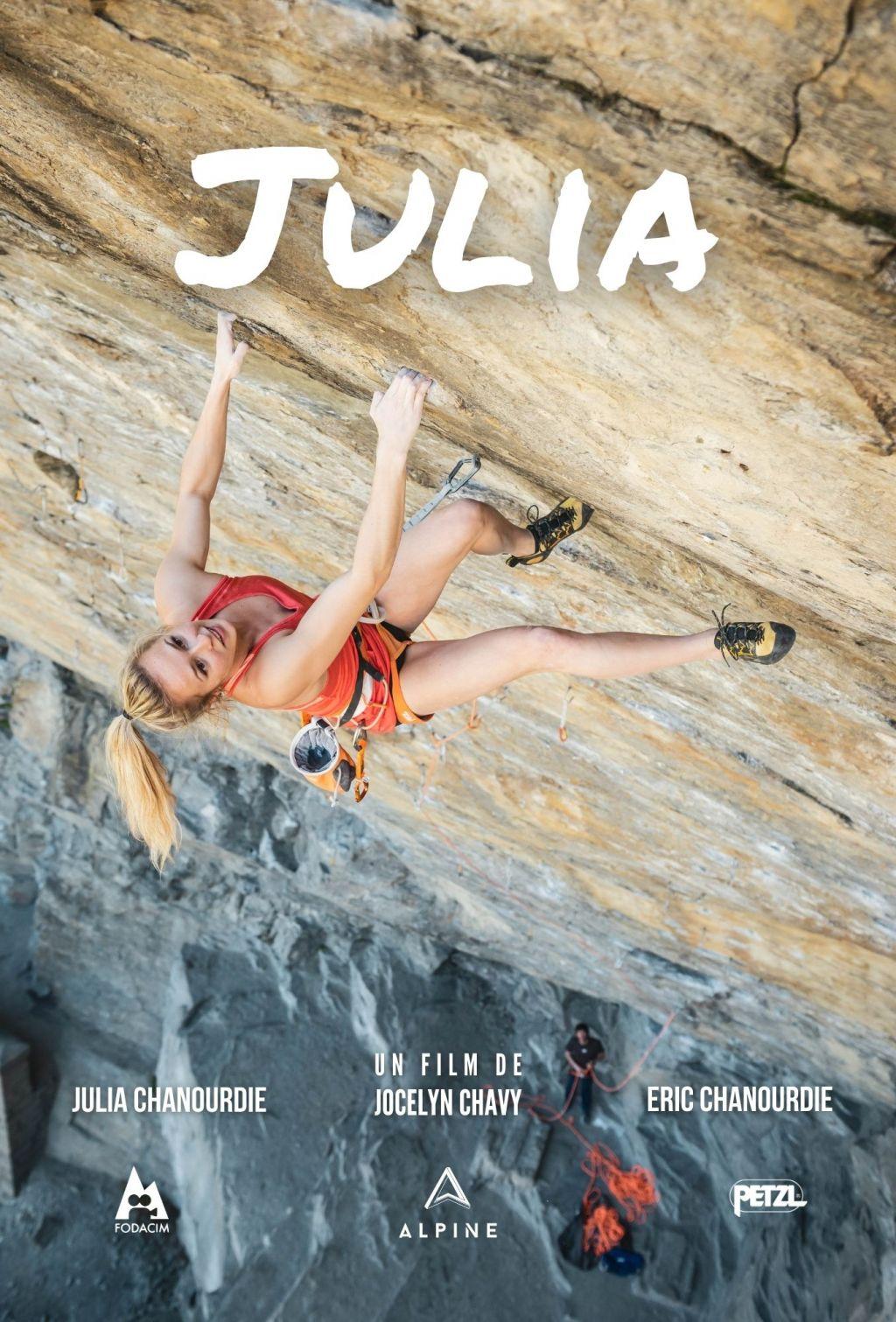 affiche film Julia chanourdie escalade jocelyn chavy festival femmes en montagne