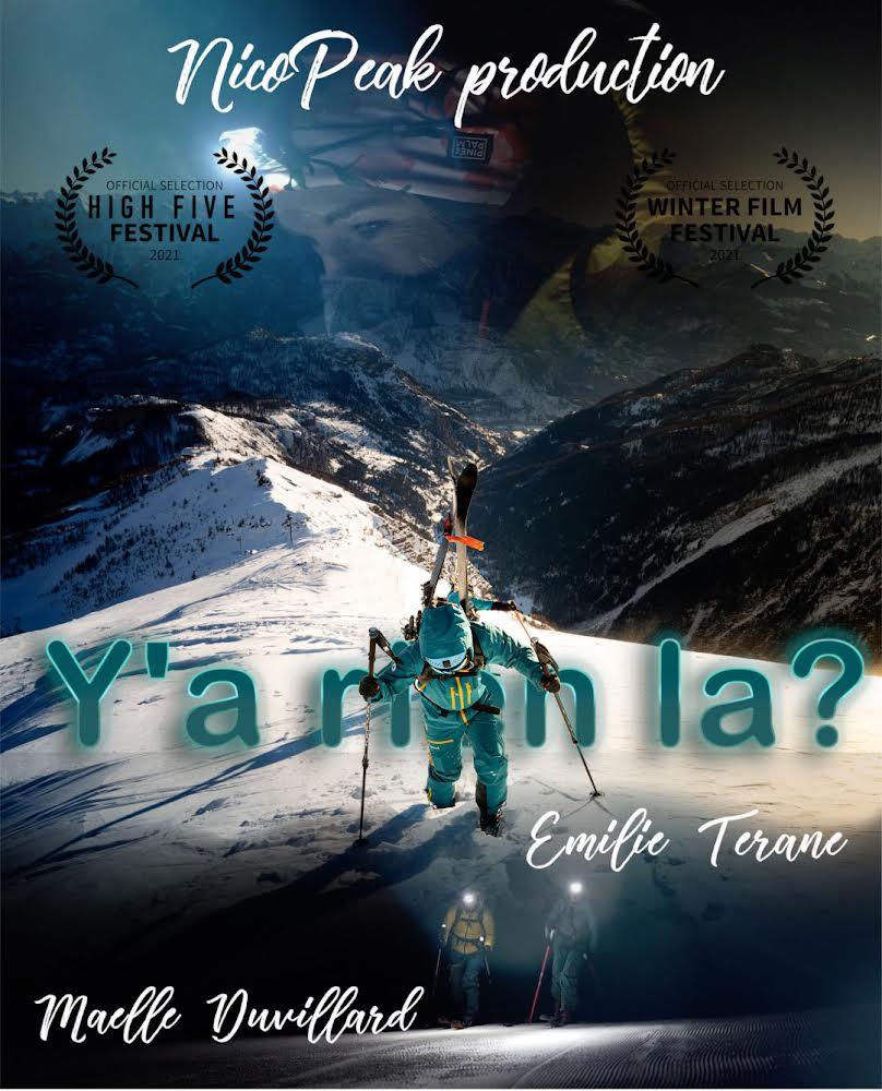 y a rien la film femmes en montagne ski affiche